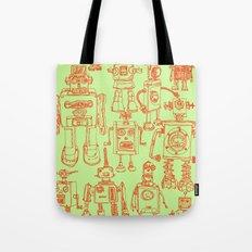 Robots! Tote Bag