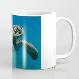 Sea Turtle Ocean blue Water Coffee Mug