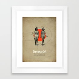 Summerish Framed Art Print