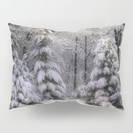 Winter on the Edge of the Woods Pillow Sham