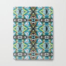 Teleports Pattern I Metal Print