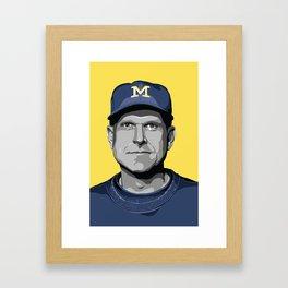 The Coach Framed Art Print