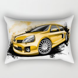 Renault Clio V6 Sport Rectangular Pillow
