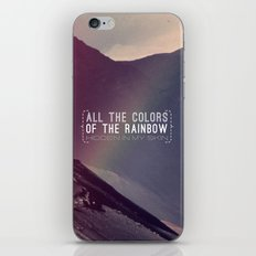 Rainbow iPhone & iPod Skin