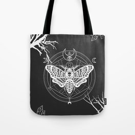 Witch Craft White Tote Bag