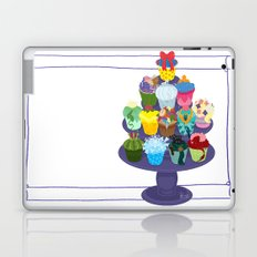 The Princess Cupcake Collection II Laptop & iPad Skin