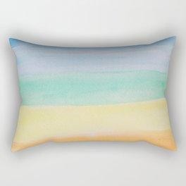 Chakra Watercolor Rectangular Pillow