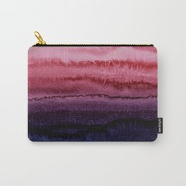 WITHIN THE TIDES JEWEL RED by Monika Strigel Carry-All Pouch