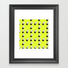Take a neon pill Framed Art Print