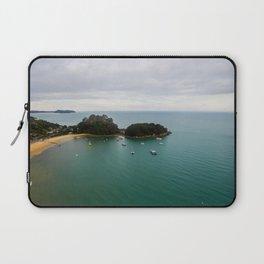 able tasman national park boat ship panorama Laptop Sleeve