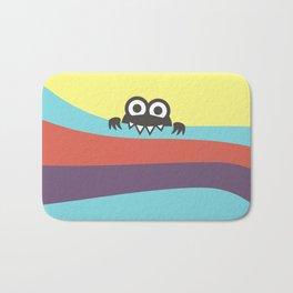 Yummy Colorful Stripes Cute Cartoon Character Bath Mat