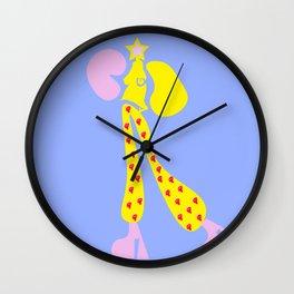 Star B Wall Clock