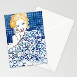 Bubble Bath Stationery Cards