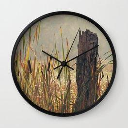 The wetlands Wall Clock