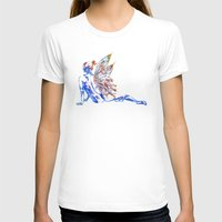 tinker bell T-shirts featuring Tinker Bell - My Glowing Love for You by Chien-Yu Peng