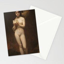 Pandora by Jules Joseph Lefebvre Stationery Cards