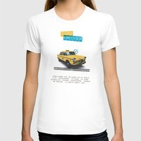 taxi driver T-shirts featuring Taxi driver by Marta Colomer