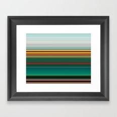 Blues Pop Framed Art Print