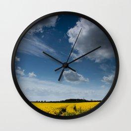 Blue Sky Thinking Wall Clock