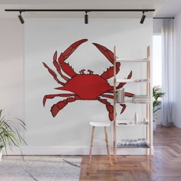 Getting Crabby Wall Mural