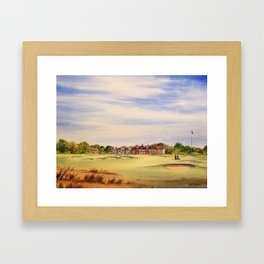 Royal Lytham And St Anne's Golf Course Framed Art Print