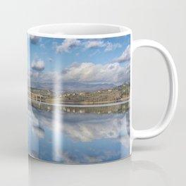 MIRROR LAKE - SQUARE VERSION Coffee Mug