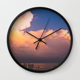 Summer Memories Wall Clock