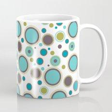 Aqua Circles Mug
