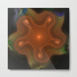 Fidgit | Fractal Art Metal Print