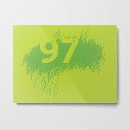 97 Metal Print