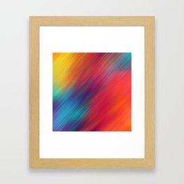 Color mix Framed Art Print