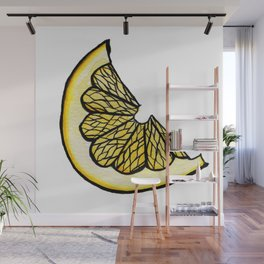 Lemon Slice Wall Mural