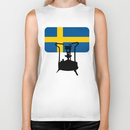 Sweden flag | Pressure stove Biker Tank