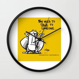 Talking is good... Wall Clock