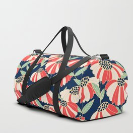 Botany pattern Duffle Bag