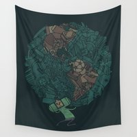 atlas Wall Tapestries featuring Prince Atlas by Hector Mansilla