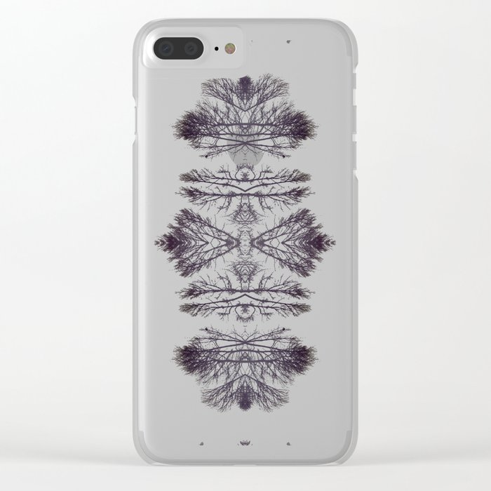 Treeflection I Clear iPhone Case
