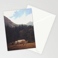 Lonely cow Stationery Cards