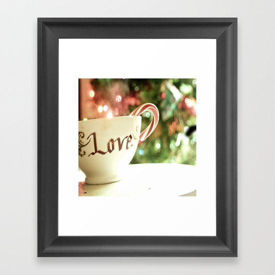 All the Things I Love Framed Art Print