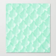 Mint Scallop Canvas Print