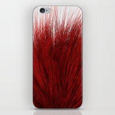 Red Fuzz iPhone Skin
