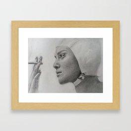 Keira Knightley in Atonement Framed Art Print