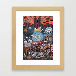 AWAKE! Framed Art Print