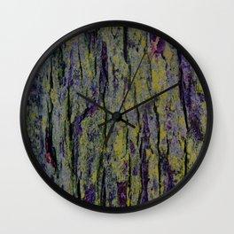 Mossy Bark Wall Clock