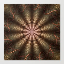 The Fabric Of The Space-Time Continuum Canvas Print