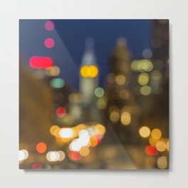 Downtown Philadelphia Metal Print