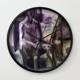 In Thought Wall Clock