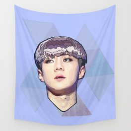 Violet portrait Wall Tapestry