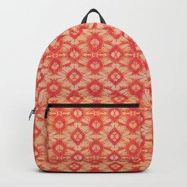 orange tie dye small repeat Backpack