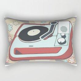 Retro Vinyl Rectangular Pillow